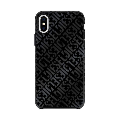 DIESEL - Printed Co-Mold Distressed Logo Pattern Case for iPhone XS/X - caseplay