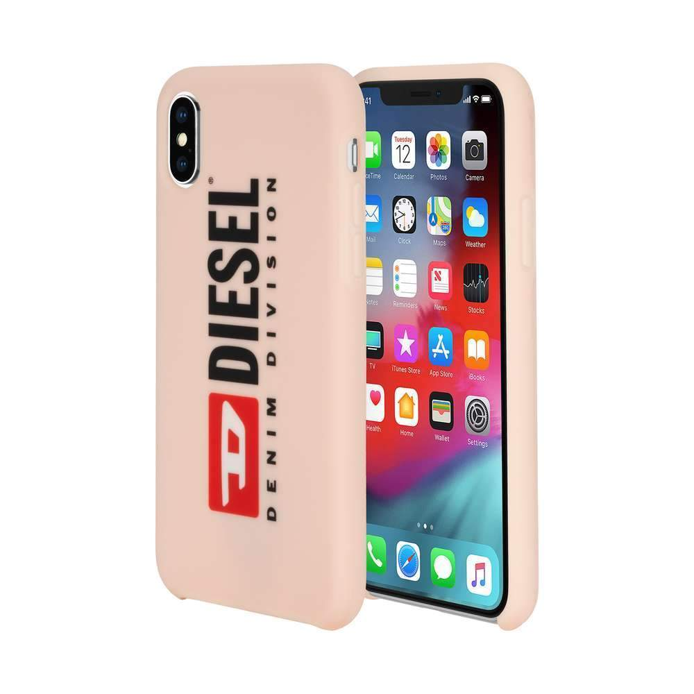 DIESEL - Printed Co-Mold Seasonal Logo Case for iPhone XS/X / ケース - FOX STORE