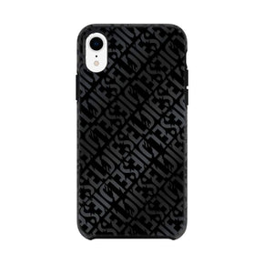 DIESEL - Printed Co-Mold Distressed Logo Pattern Case for iPhone XR - caseplay
