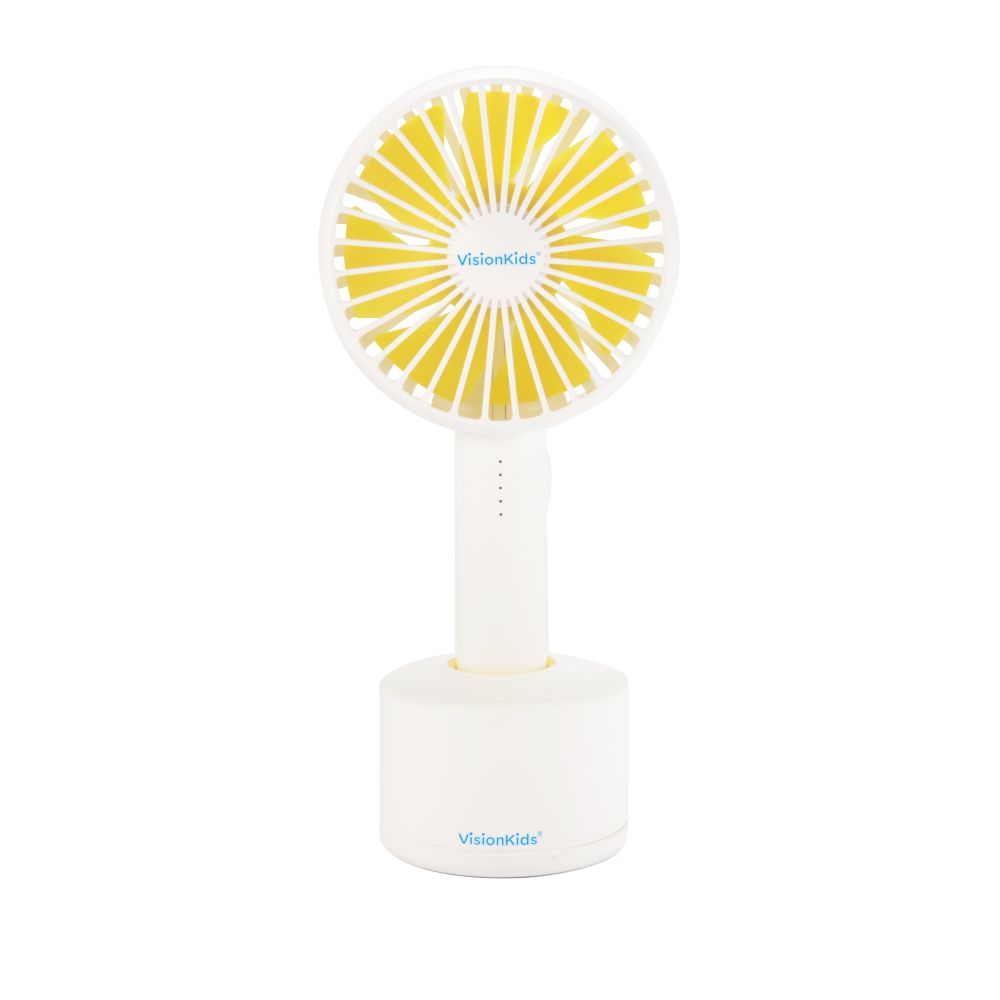 VisionKids - Portable handheld Fan - White