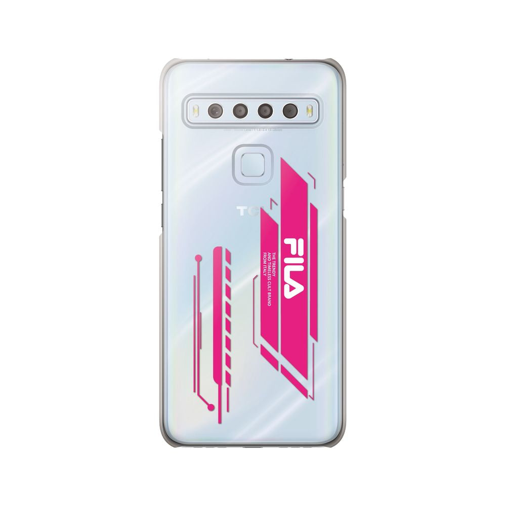 FILA - Clear Case Geometry for TCL 10 Lite