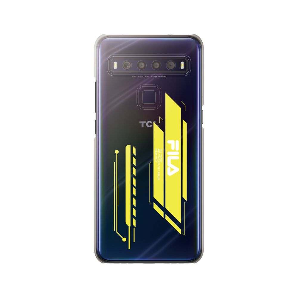FILA - Clear Case Geometry for TCL 10 Lite - Tropical