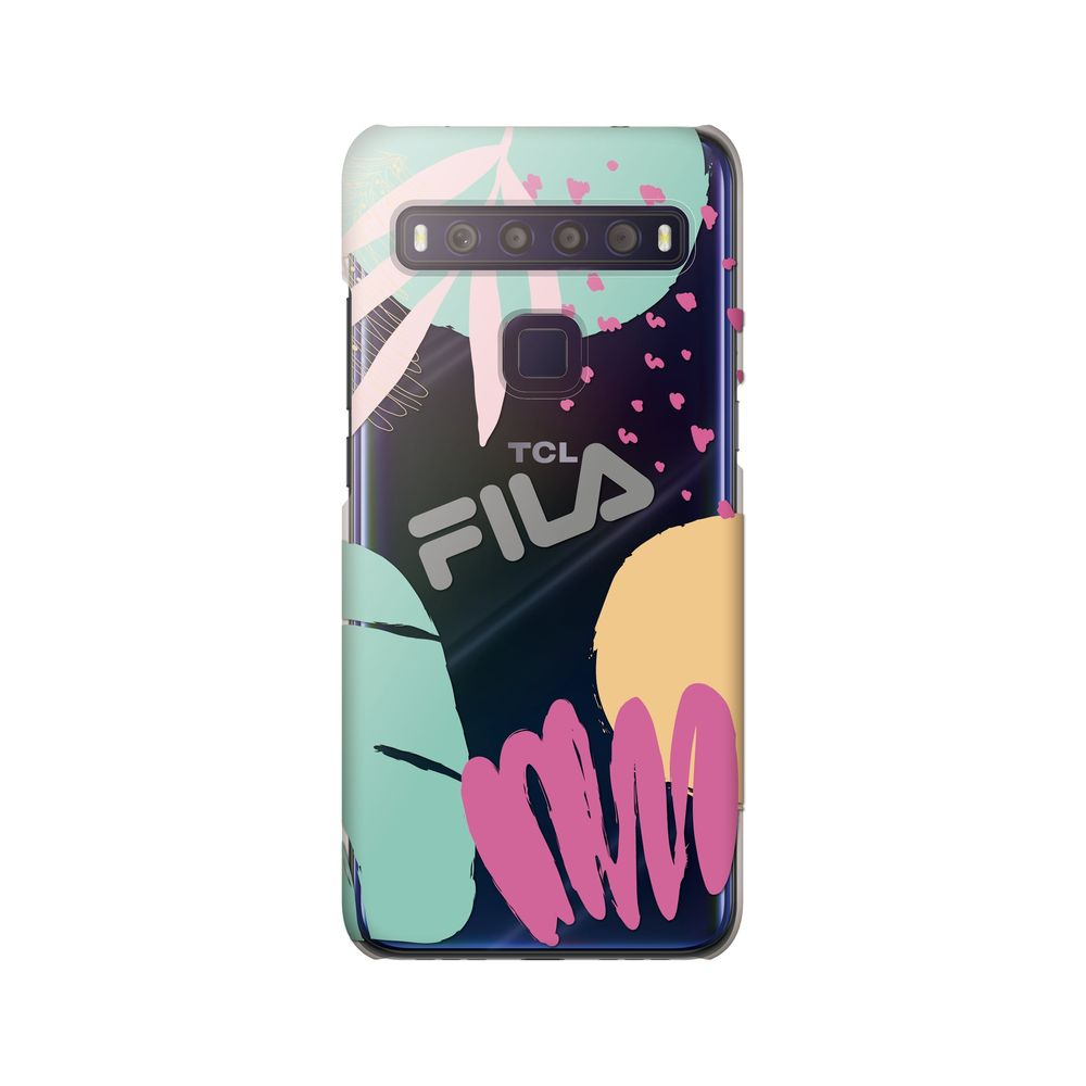 FILA - Clear Case Leaves 1 for TCL 10 Lite