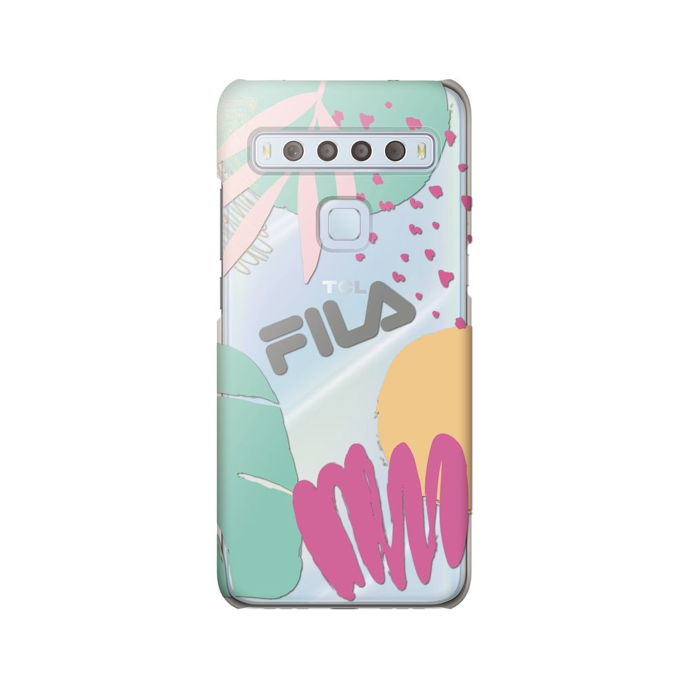 FILA - Clear Case Leaves 1 for TCL 10 Lite - Mulit