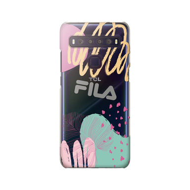 FILA - Clear Case Leaves 4 for TCL 10 Lite