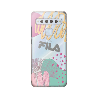 FILA - Clear Case Leaves 4 for TCL 10 Lite - Mulit