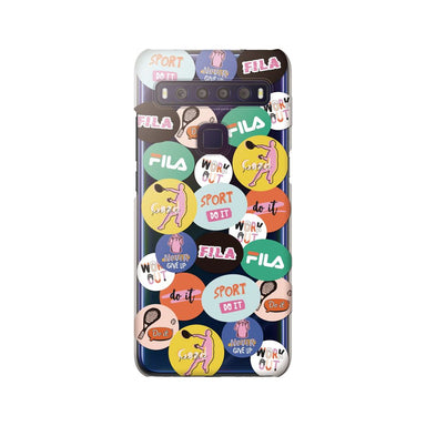 FILA - Clear Case Round Sticker Tennis for TCL 10 Lite - Mulit