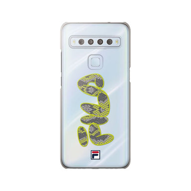 FILA - Clear Case Snake for TCL 10 Lite - Shocking Green