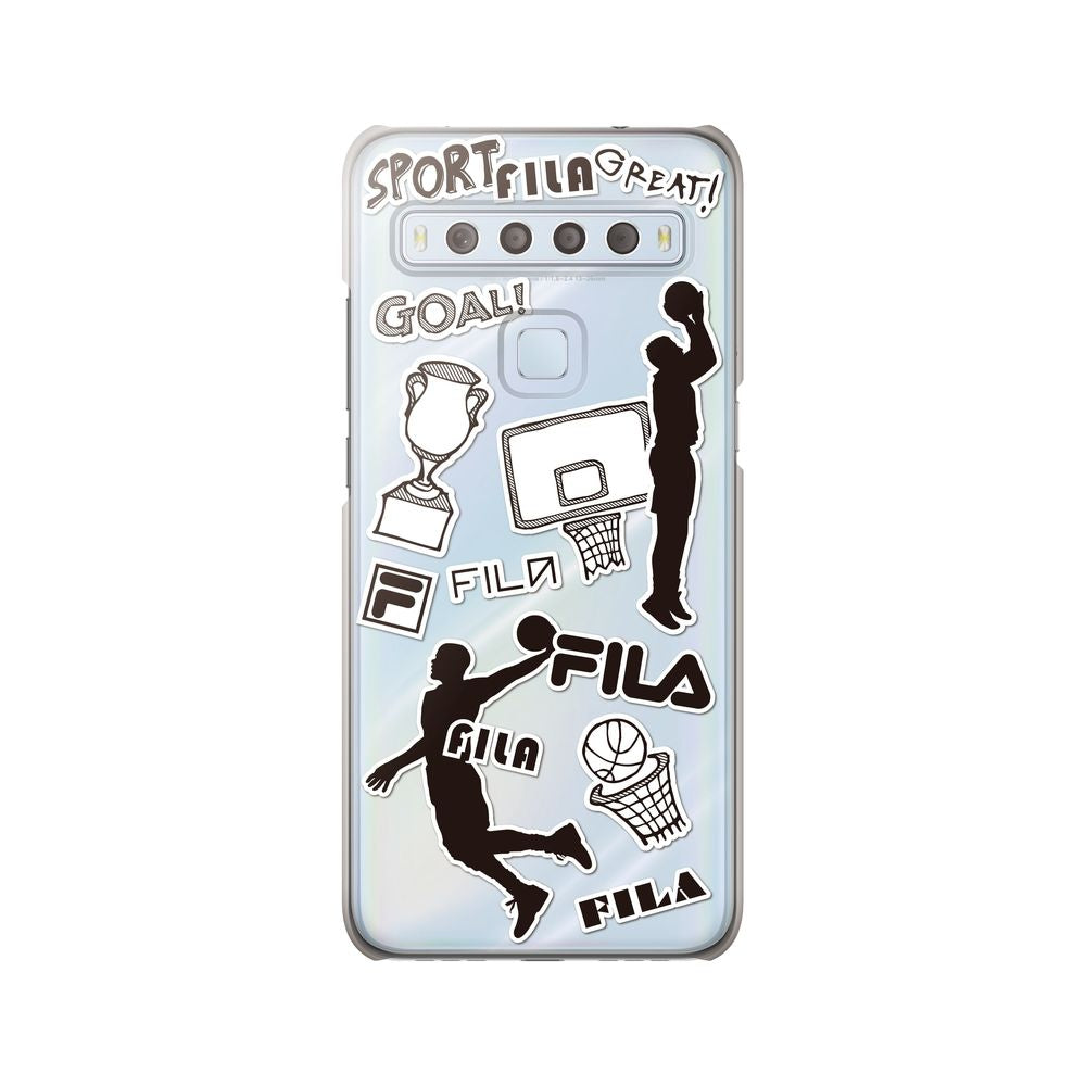 FILA - Clear Case Sticker Basketball for TCL 10 Lite
