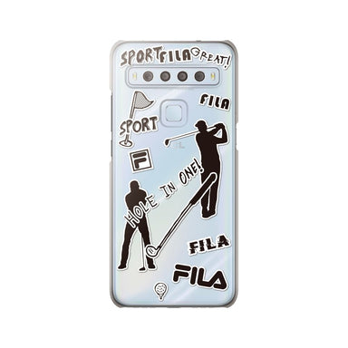 FILA - Clear Case Sticker Golf for TCL 10 Lite