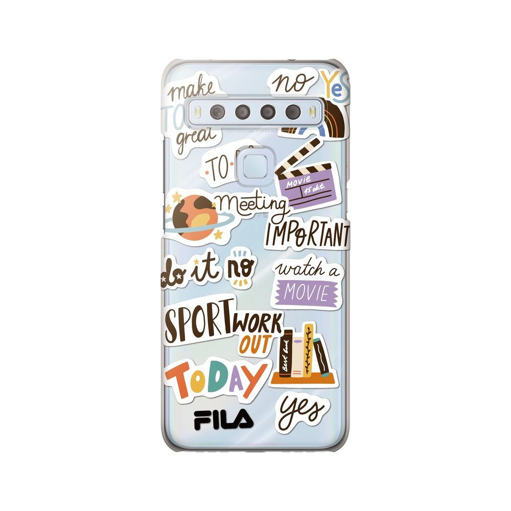 FILA - Clear Case Sticker for TCL 10 Lite