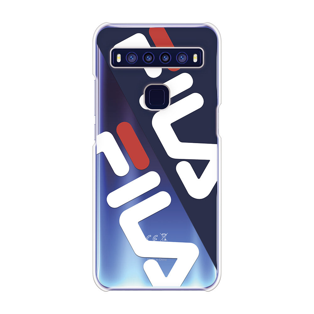 FILA - CLEAR CASE DIAGONAL for TCL 10 5G - Dark Navy