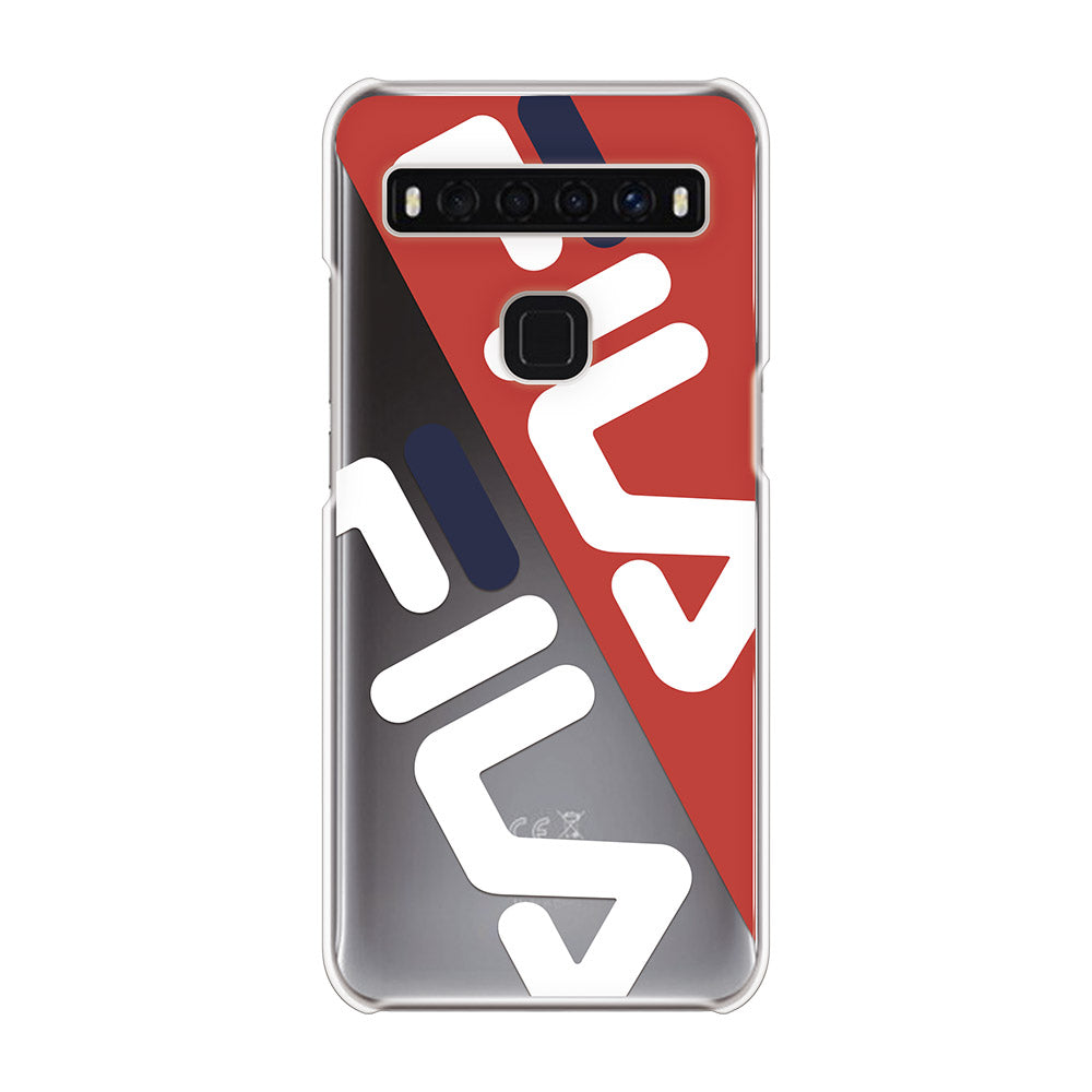 FILA - CLEAR CASE DIAGONAL for TCL 10 5G