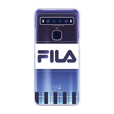 FILA - CLEAR CASE LATTICE for TCL 10 5G - Dark Navy