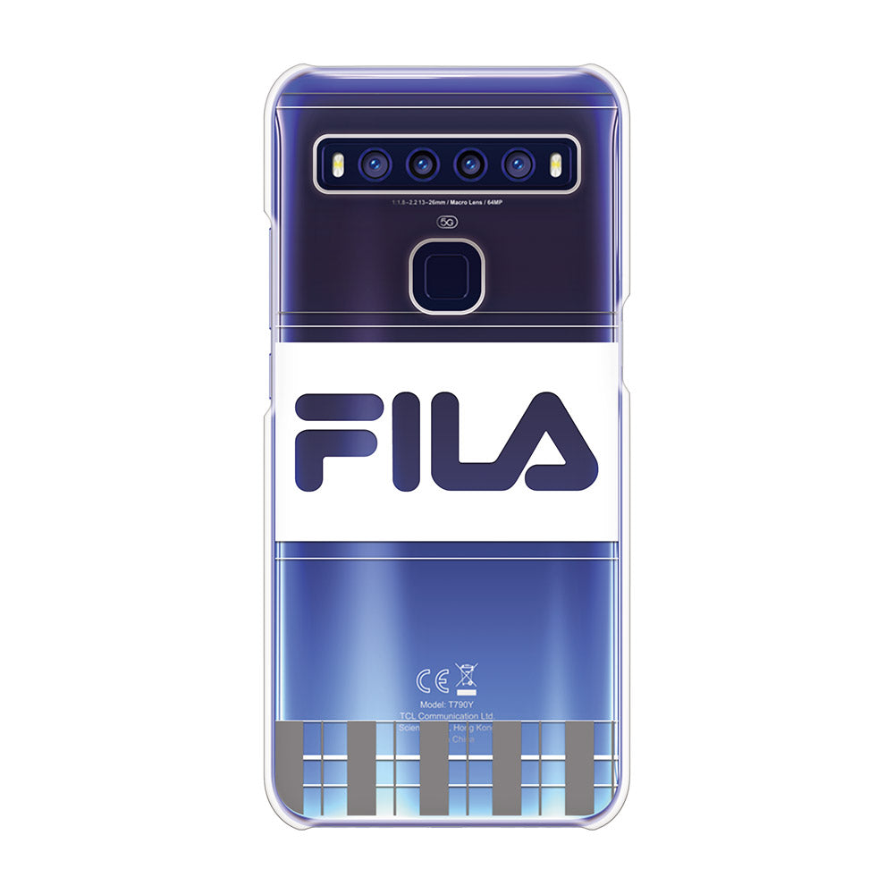 FILA - CLEAR CASE LATTICE for TCL 10 5G - Gray