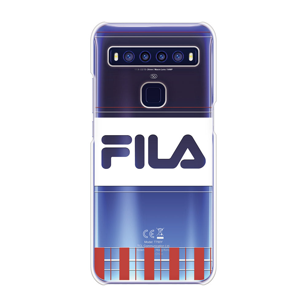 FILA - CLEAR CASE LATTICE for TCL 10 5G - Red