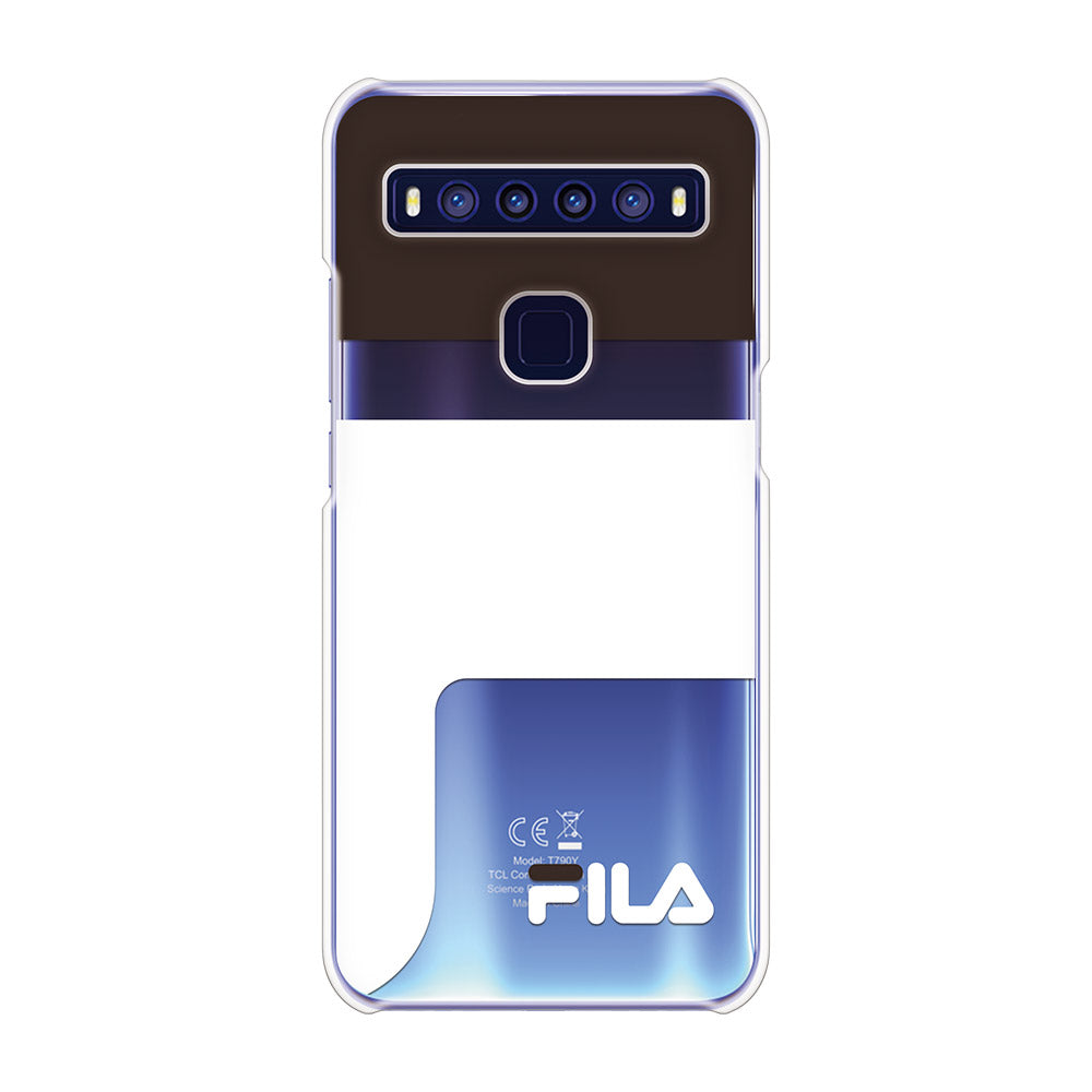 FILA - CLEAR CASE LOGOIMAGE for TCL 10 5G - Black