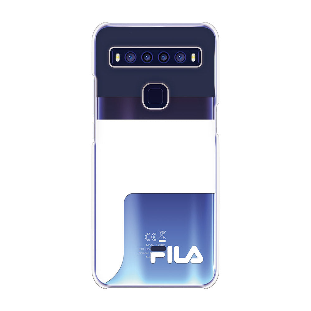 FILA - CLEAR CASE LOGOIMAGE for TCL 10 5G - Dark Navy