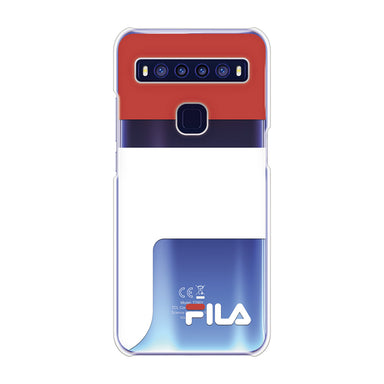 FILA - CLEAR CASE LOGOIMAGE for TCL 10 5G - Red