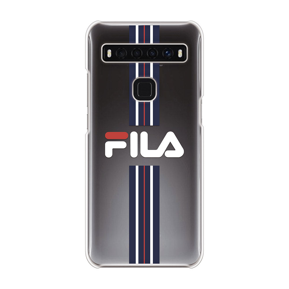 FILA - CLEAR CASE STRIPE for TCL 10 5G