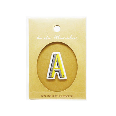 Carte Blanche - Leather Sticker - A