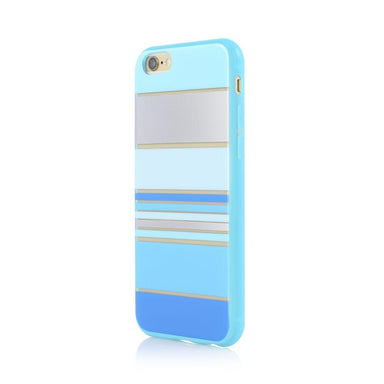 INCIPIO - Incipio Design Series for iPhone 6/6s - Hensley Stripes Blue