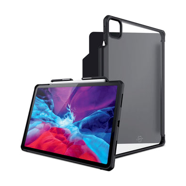 ITSKINS - Hybrid Solid Folio for 12.9-inch iPad Pro ( 4th&3th ) - Black