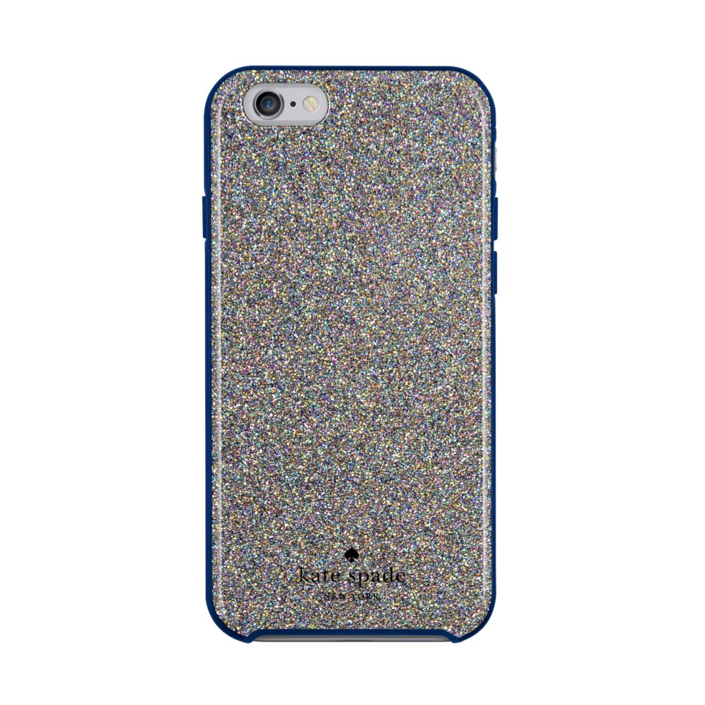 kate spade new york - Hybrid Hardshell Case for iPhone 6/6s - Multi Glitter French Navy