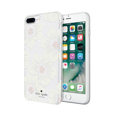 kate spade new york - Protective Hardshell Case iPhone 7 Plus - Hollyhock Floral White