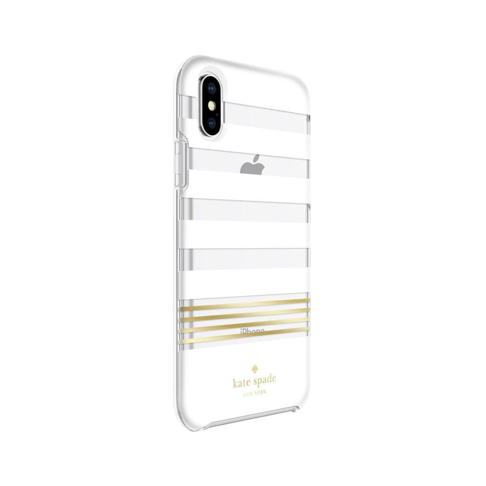 kate spade new york - Protective Hardshell Case (1-PC Co-Mold) for iPhone XS/X