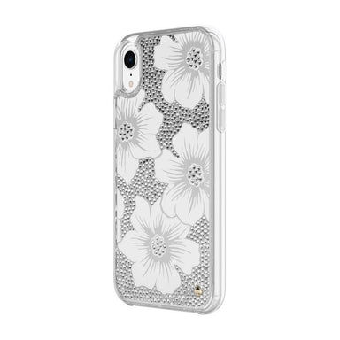 kate spade new york - Full Clear Crystal Case for iPhone XR