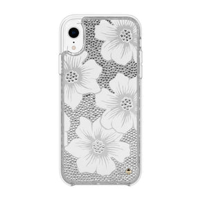 kate spade new york - Full Clear Crystal Case for iPhone XR - caseplay