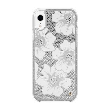 kate spade new york - Full Clear Crystal Case for iPhone XR / ケース - FOX STORE
