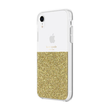 kate spade new york - Half Clear Crystal Case for iPhone XR