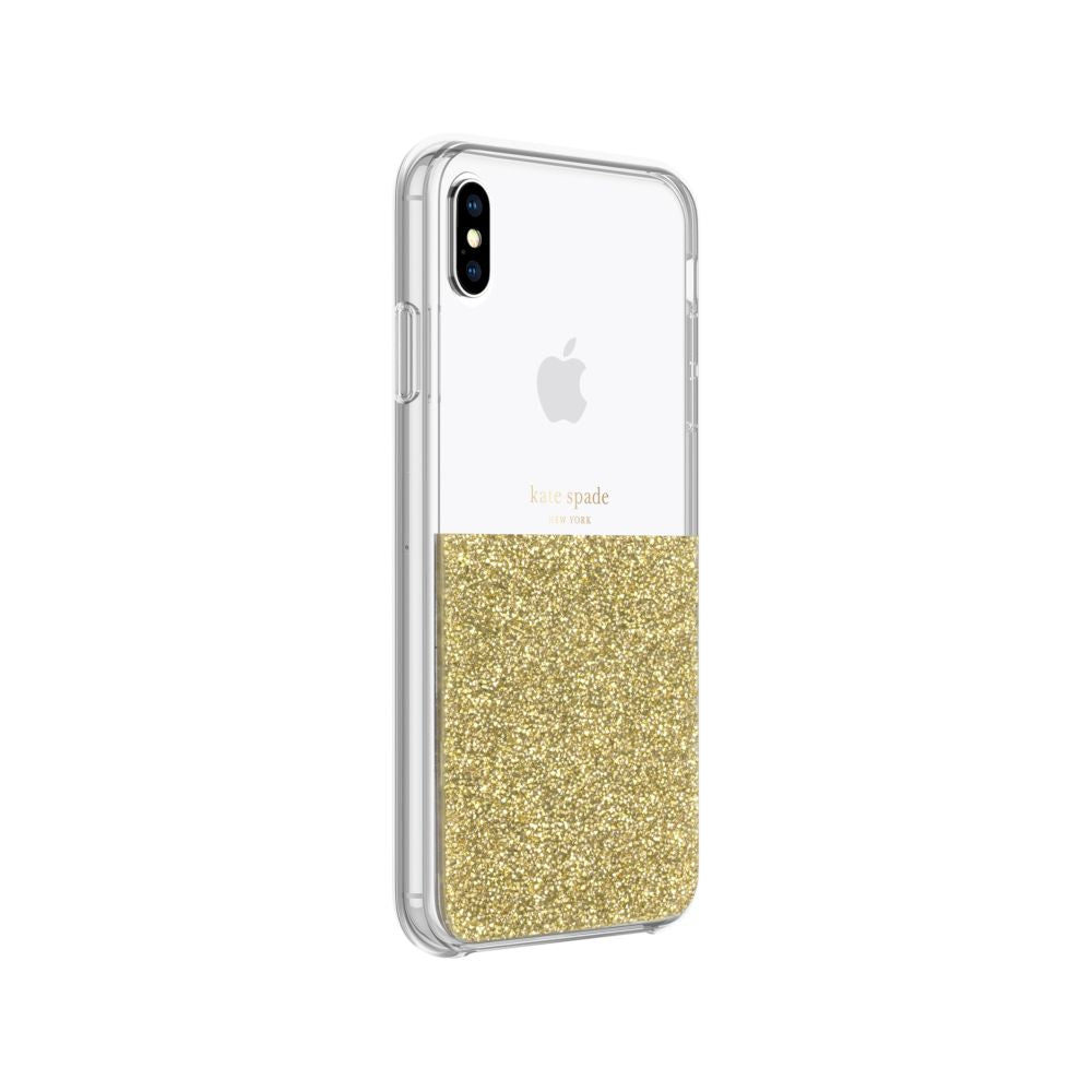 kate spade new york - Half Clear Crystal Case For iPhone XS Max