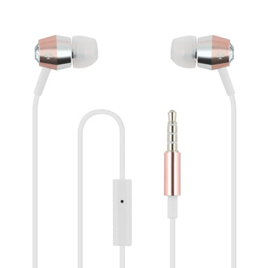 kate spade new york - Earbuds - Crystal/Rose Gold/Silver/White