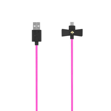 kate spade new york - Bow Charge/Sync Cable - Micro-USB