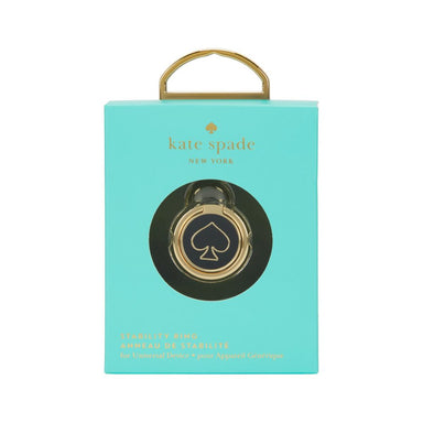 kate spade new york - Universal Stability Ring - Gold/Black Enamel