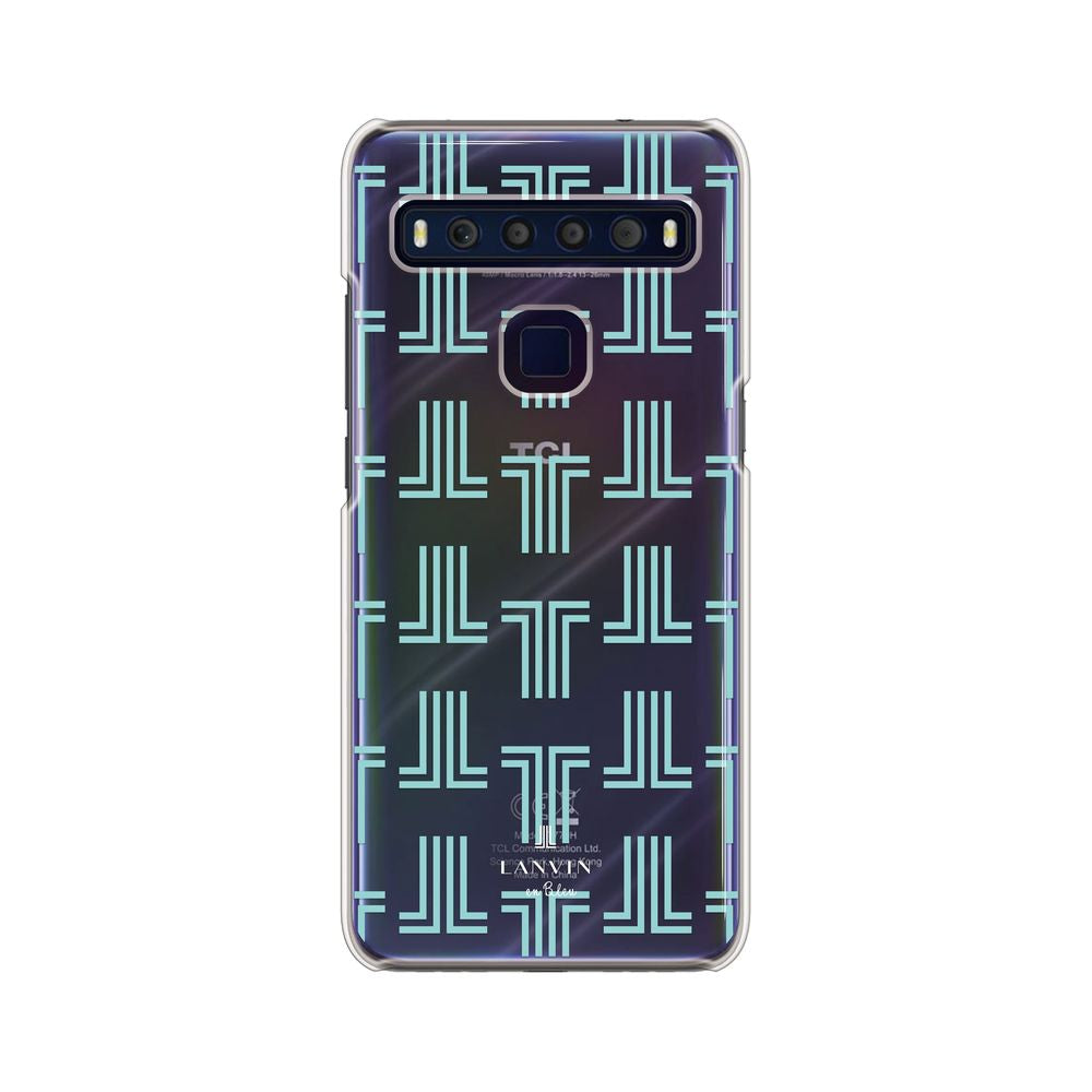 LANVIN en Bleu - Clear Case Monogram for TCL 10 Lite