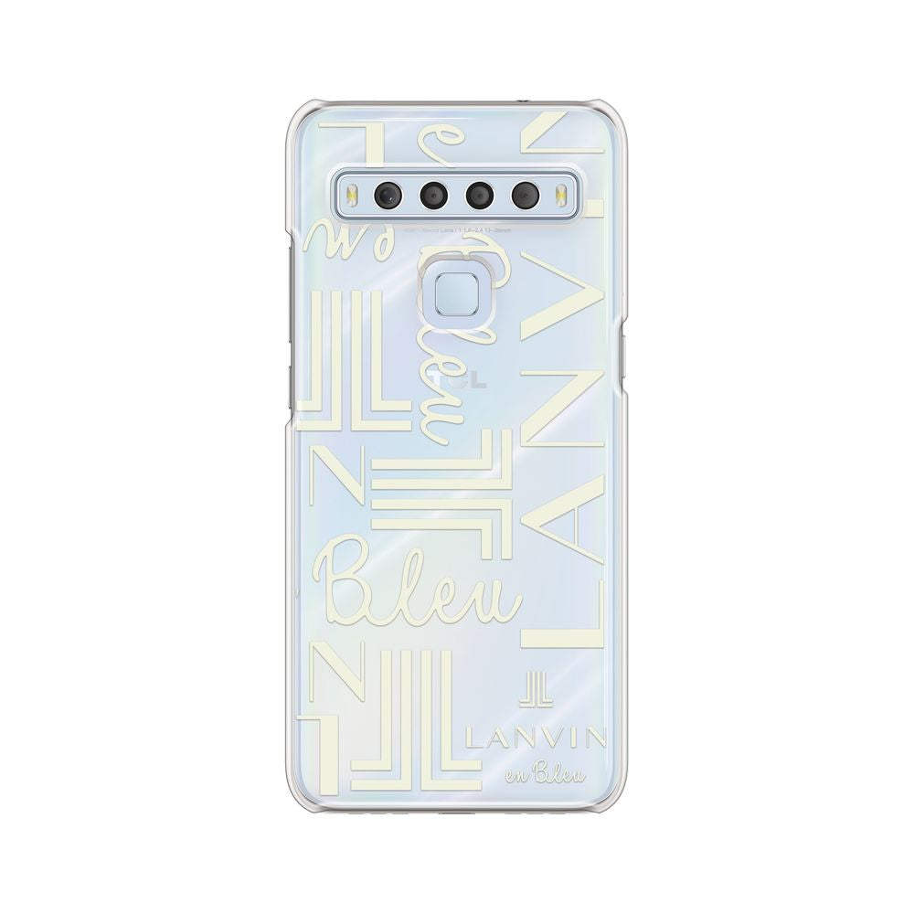 LANVIN en Bleu - Clear Case Signature for TCL 10 Lite