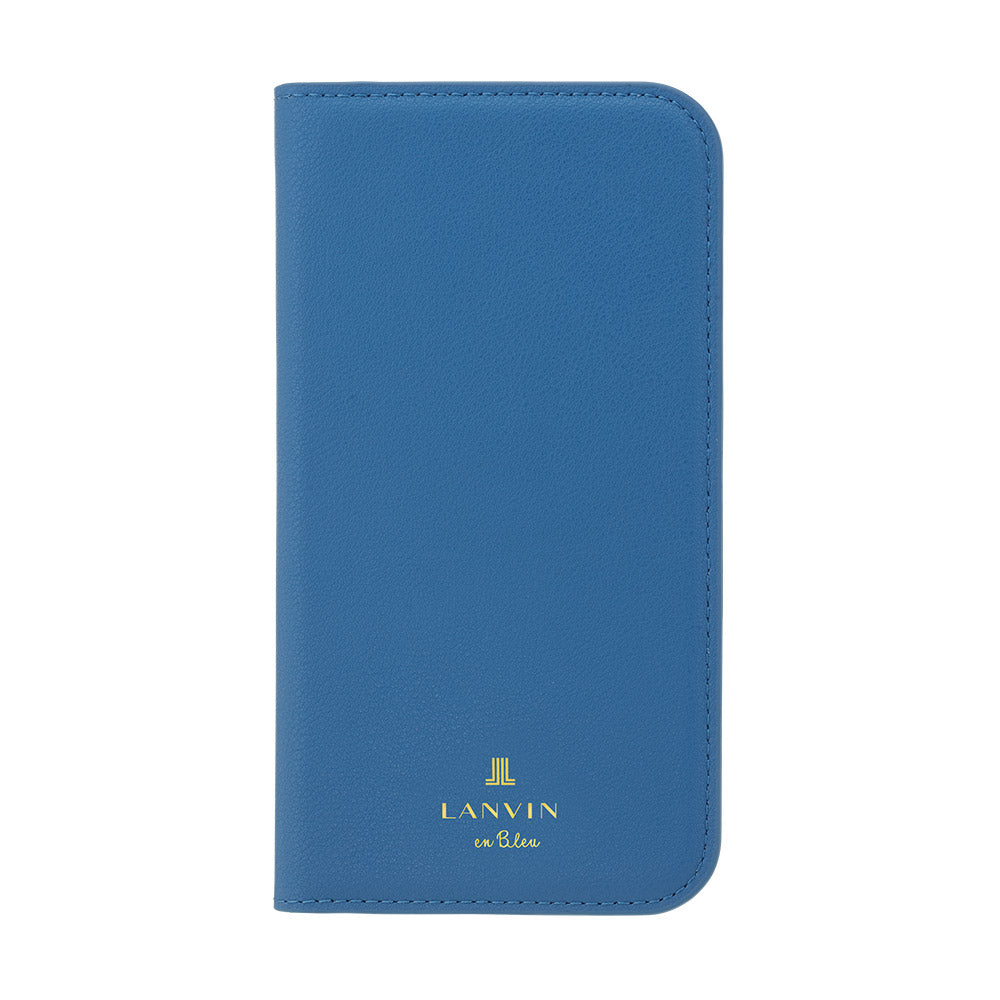 LANVIN en Bleu - FOLIO CASE CLASSIC for iPhone 12 mini - Navy