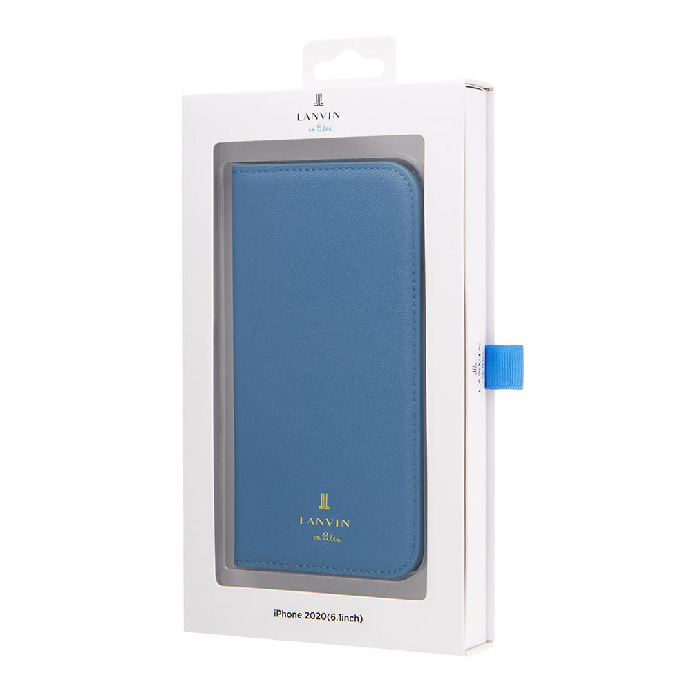 LANVIN en Bleu - FOLIO CASE CLASSIC for iPhone 12 mini