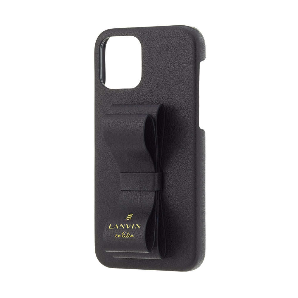 LANVIN en Bleu - Slim Wrap Case Stand & Ring Ribbon for iPhone 12 Pro Max