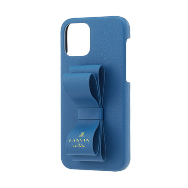 LANVIN en Bleu - SLIM WRAP CASE STAND & RING RIBBON for iPhone 12 mini