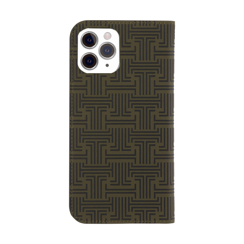 LANVIN COLLECTION - Folio Case Monogram for iPhone 11 Pro