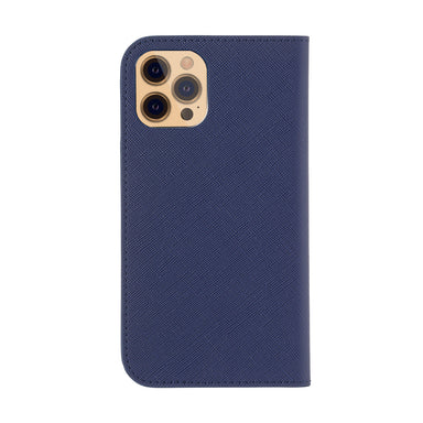 LANVIN COLLECTION - Folio Case Saffiano for iPhone 12 Pro Max
