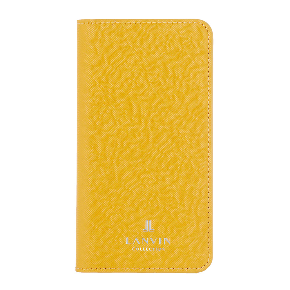 LANVIN COLLECTION - FOLIO CASE SAFFIANO for iPhone 11 - Yellow