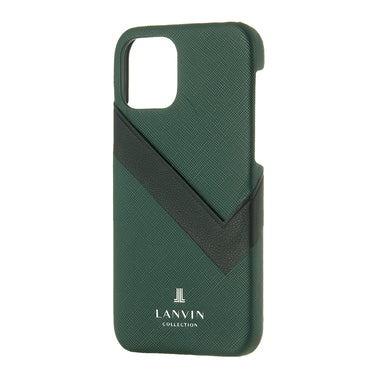 LANVIN COLLECTION - SLIM WRAP CASE SAFFIANO WRAP for iPhone 11