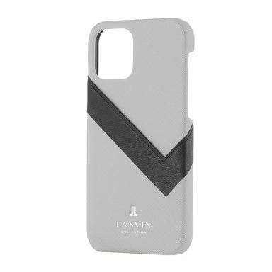 LANVIN COLLECTION - SLIM WRAP CASE SAFFIANO WRAP for iPhone 11 Pro