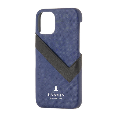 LANVIN COLLECTION - SLIM WRAP CASE SAFFIANO WRAP for iPhone 12 mini